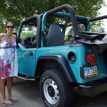 Anka i jej nowy wóz i moja bronia