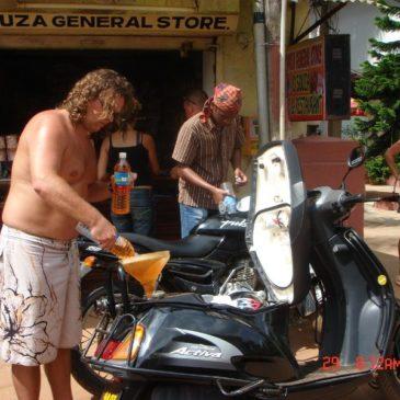 Indie 2006 – Goa-skuterem na północ
