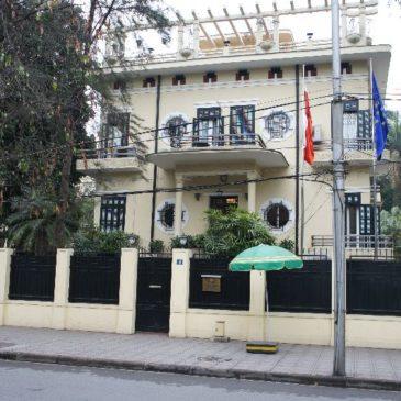 Ha Noi – nasi tu sa – polska ambasada