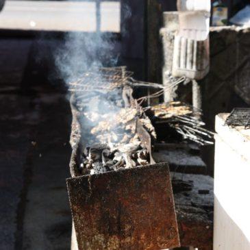 grill z ofiarnego baranka