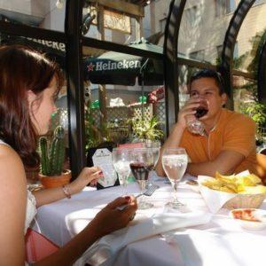Wizytę  NY rozpoczęliśmy obiadkiem w meksykańskiej knajpce w Stampford.
