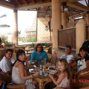 W jednej z kilku restauracji jedliśmy lunche