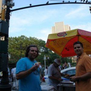 Marzenie Krzyśka - hot-dogi na Manhatanie.