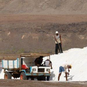 ładowali sól - tym razem już na auta