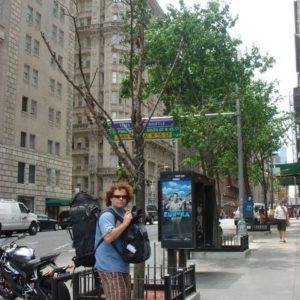 I co się okazało - w całym Nowym Yorku nie ma przechowalni bagażu