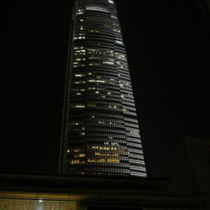 To jest wyższa wieża podobna do bliźniaczek WTC - druga po 11 września została zakończona w 1/4 wysokości.
