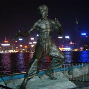 posąg Bruca Lee,