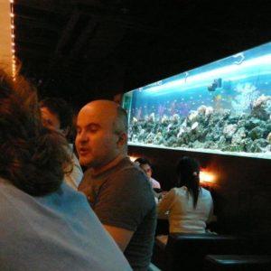 A potem jak zwykle na sushi (o, kogo tam jeszcze spotkaliśmy),