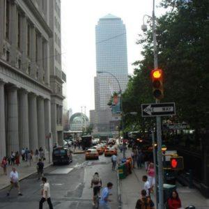 WTC były na końcu ulicy.