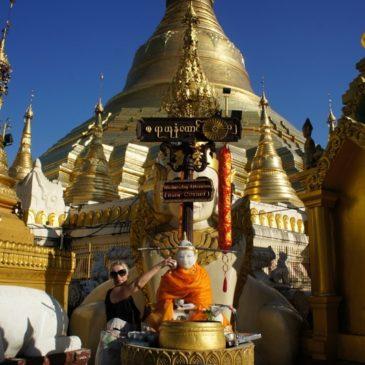 Jeszcze tylko Shwedagon Pagoda